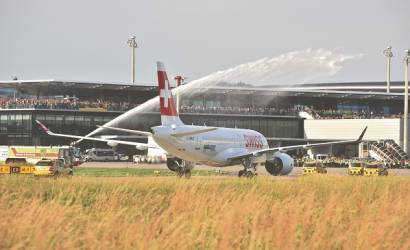 Swiss welcomes Bombardier C-Series to Zurich for first time