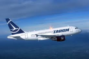 Romanian carrier Tarom flies into Luton
