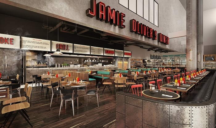 Gatwick set to welcome Jamie Oliver's The Diner this summer