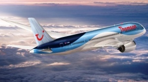 Boeing Dreamliner headed for Glasgow Airport