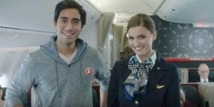 Turkish Airlines welcomes Zach King to new in-flight video