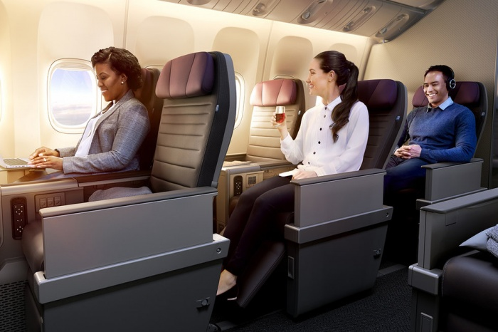 United to add premium economy on international routes