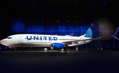 United Airlines new livery in United States