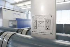 United rolls out airport power sockets