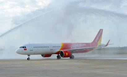 Vietjet welcomes first A321neo to south-east Asia