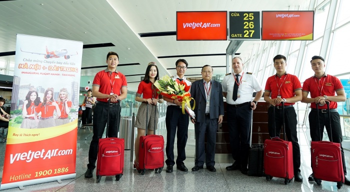 Vietjet launches new Hanoi-Taichung route