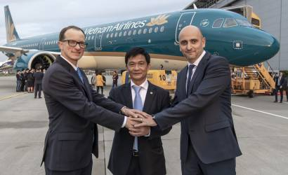 Vietnam Airlines takes delivery of first Airbus A321neo