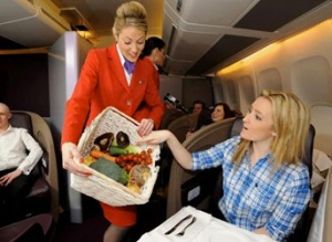 Virgin Atlantic to grow vegetables on-board flights