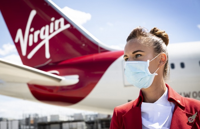 Virgin Atlantic to offer free Covid-19 insurance