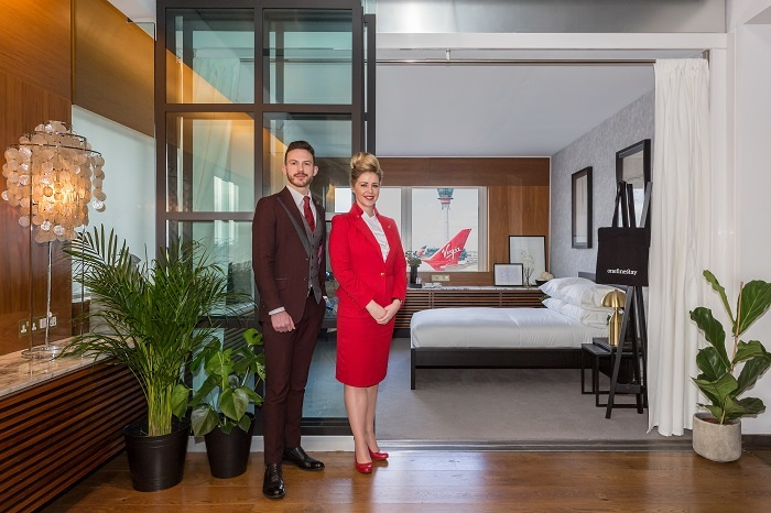 onefinestay opens first runway bedroom in Virgin Atlantic Clubhouse