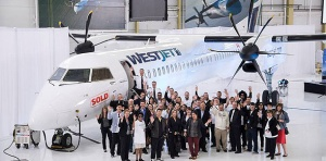 WestJet takes delivery of first Bombardier Q400 NextGen turboprop