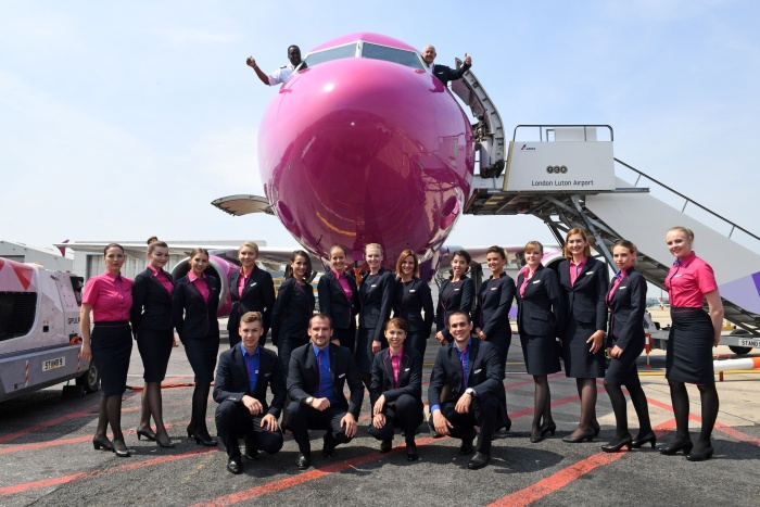 Wizz Air opens first UK base at Luton Airport