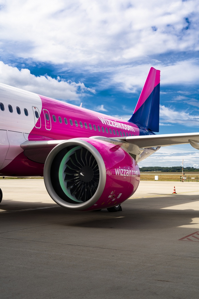Wizz Air welcomes first Airbus A320neo to fleet