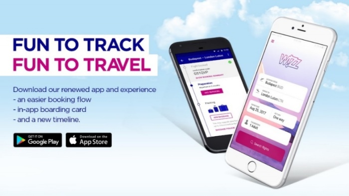 Wizz Air launches new mobile app