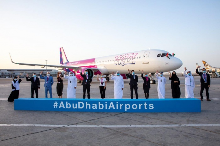 Wizz Air Abu Dhabi welcomes first A321neo to fleet