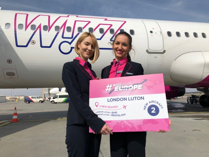 Wizz Air adds new routes from Luton base as fleet expands