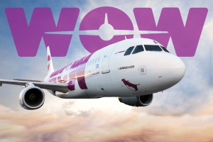WOW air takes delivery of two Airbus A321 aircraft for transatlantic routes