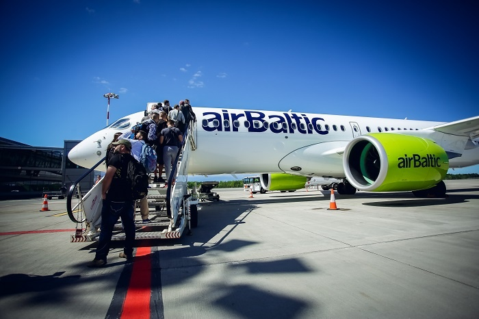 airBaltic carries record number of passengers in June