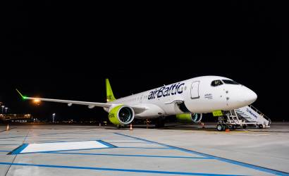 airBaltic welcomes latest Bombardier CS300 to fleet