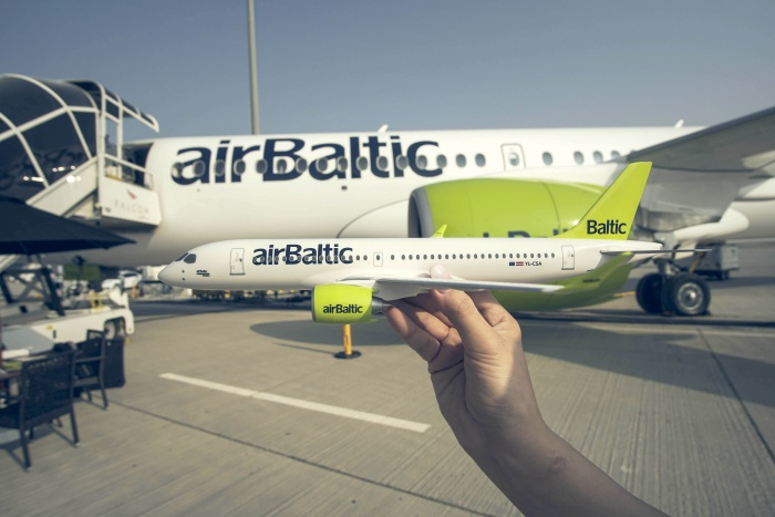airBaltic carries record number of passengers in October
