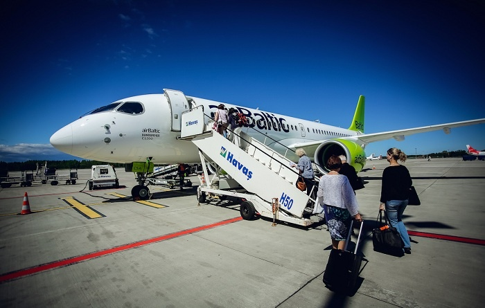 airBaltic launches flights between Riga and Madrid