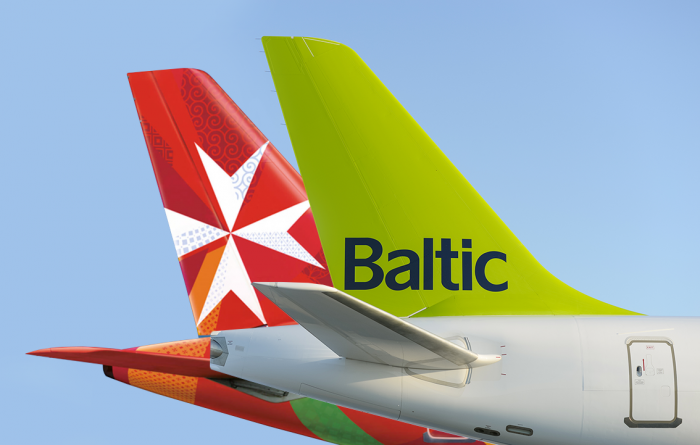airBaltic signs codeshare deal with Air Malta