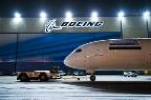 Boeing celebrates strong year for commercial aviation