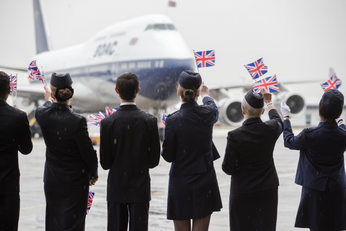 The Centenary: British Airways Reveals Retro BOAC Livery on 747