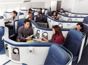 Delta introduces full flat bed seats