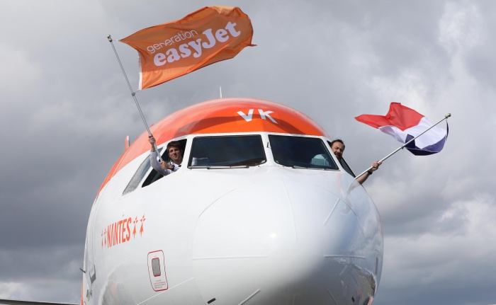 easyJet opens new low-cost base at Nantes Airport