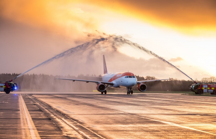 easyJet launches first ever flight from Southampton