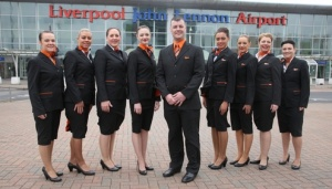 easyJet celebrates Liverpool operations