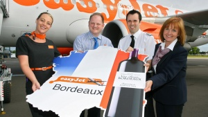 easyJet launches new routes to Bordeaux and Jersey