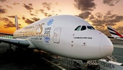 Emirates takes Dubai's Expo bid to the skies