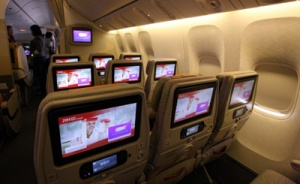 Emirates enhances entertainment systems