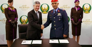 Etihad Airways sign MOU with UAE Armed Forces