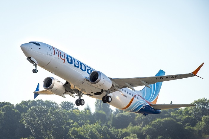 News: flydubai receives first Boeing 737 MAX 8
