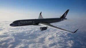 Four Seasons launches hotel industry's first branded jet