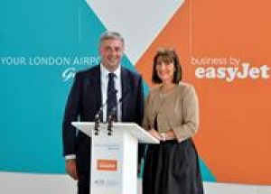 Gatwick and easyJet team up to talk business travel