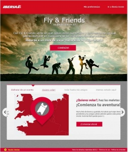 Iberia's new website revolutionises digital panorama