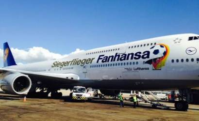 FIFA World Cup 2014: German champions fly home with Lufthansa