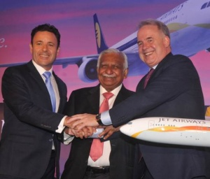 Etihad partnership drives growth at Jet Airways