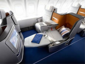 Lufthansa unveils fully-flat Business Class Seat