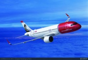 Norwegian firms up order for 100 Airbus A320neo