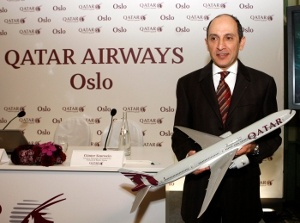 Qatar Airways launches Oslo route