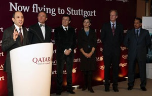 Qatar Airways launches flights to Stuttgart