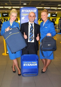 Ryanair cuts airport baggage fees