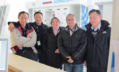 THAI pilots receive A380 training in France