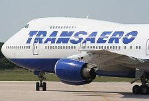 Transaero Airlines flies into Tbilisi