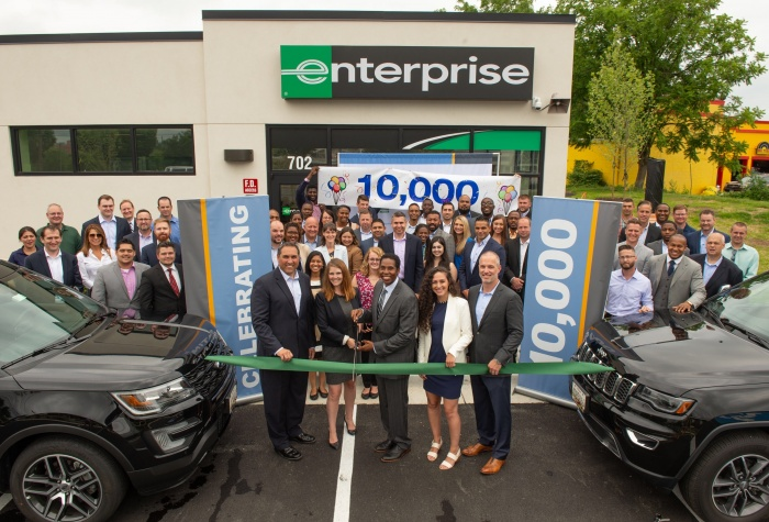 Enterprise Holdings breaks 10,000 location barrier
